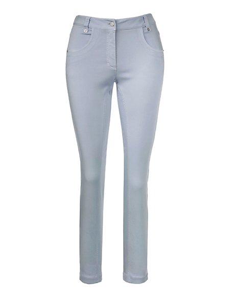 MADELEINE  7/8-broek Dames lichtblauw / blauw