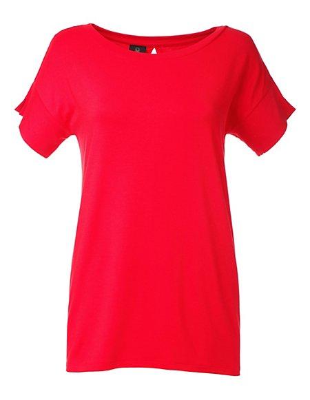 MADELEINE  Shirt Dames rood