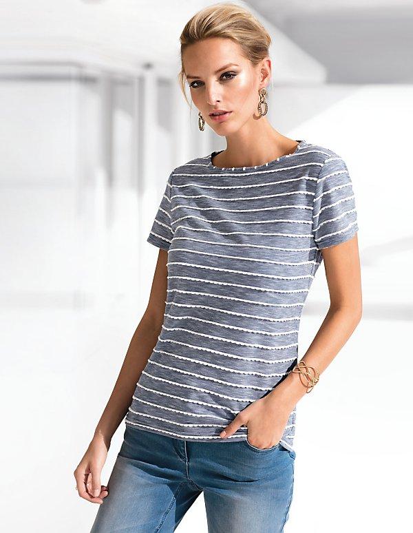 256 JerseyNoir 60 CasséNoirBlanc 02 shirt En blanc Référence T l3TK1JcF