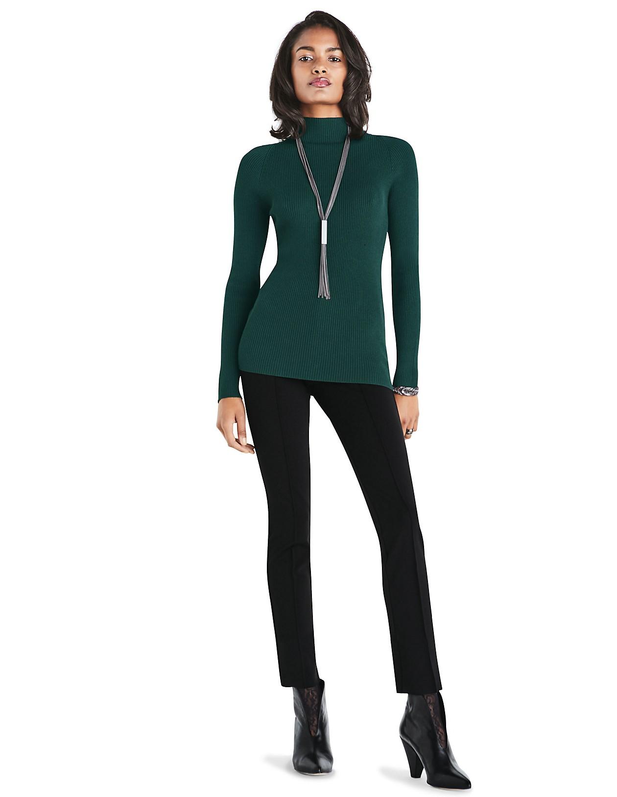 d3caf415dfad7b Rippstrick-Pullover, wollweiß, weiß   MADELEINE Mode